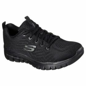 Skechers  GRACEFUL GET CONNECTED 12615 CCGR  women's Running Trainers in Black