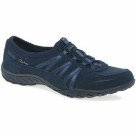 Skechers  Breathe Easy Money Bags Womens Casual Sports Trainers  women's Shoes (Trainers) in Blue