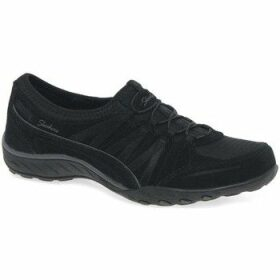 Skechers  Breathe Easy Money Bags Womens Casual Sports Trainers  women's Shoes (Trainers) in Black