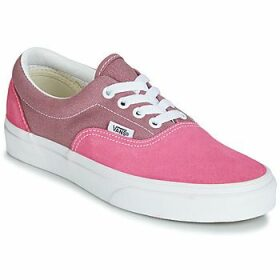 Vans  ERA  women's Shoes (Trainers) in Pink