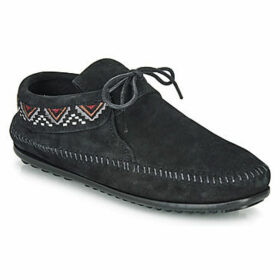 Minnetonka  MOSAIC  women's Loafers / Casual Shoes in Black