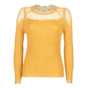 Derhy  ELZEVIR  women's Sweater in Yellow