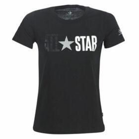 Converse  ALL STAR REMIX  women's T shirt in Black