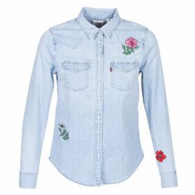 Levis  ULTIMATE WESTERN  women's Shirt in Blue