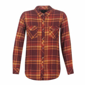 Volcom  ZINFANDEL  women's Shirt in Red