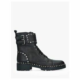 Sam Edelman Jennifer Leather Stud Ankle Boots, Black