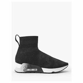 Ash Lulu Flatform Sock Trainers, Black