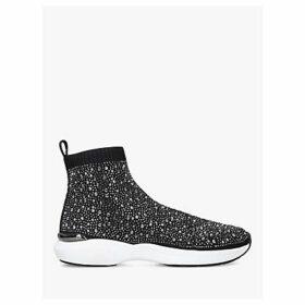 Carvela Jibberish Embellished Sock Trainers