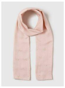 Pink Pearl Scarf, Pink