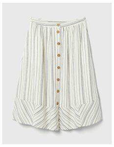 Fat Face Lena Stripe Skirt