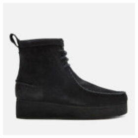 Clarks Originals Women's Wallabee Craft Nubuck Boots - Black - UK 7