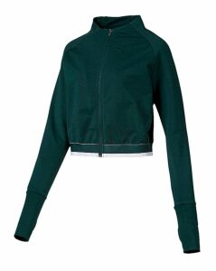 Puma Ladies Green Soft Sports Jacket