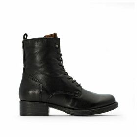 Norton Leather Ankle Boots