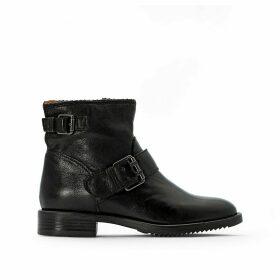 Zarko-Zorba Leather Buckled Boots