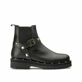 Aiparla Leather Boots