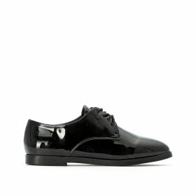 Lace-Up Patent Brogues