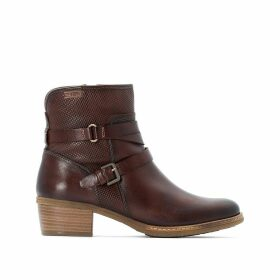 Zaragoza Leather Ankle Boots