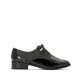Two Tone Brogues with Check Detail