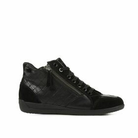 Myria Leather Mix Trainers