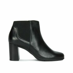 New Annya Leather Ankle Boots