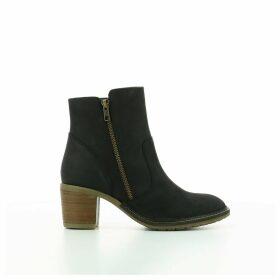 Philomena Heeled Leather Boots