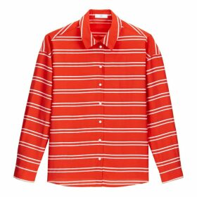 Striped Long-Sleeved Shirt