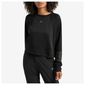 Dry Get Fit Crop Sweatshirt with Logo on Cuffs