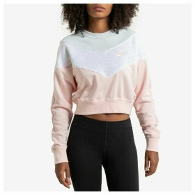 Cropped Colour Block Sweatshirt