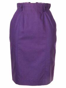 Christian Dior 1990s pre-owned Christian Dior Sports Midi Skirt -