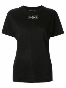 Fendi Pre-Owned logo shortsleeved T-shirt - Black