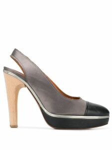 LANVIN Pre-Owned 2009's two-tone pumps - Grey
