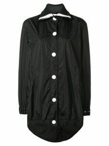 No Ka' Oi oversized button sports parka - Black