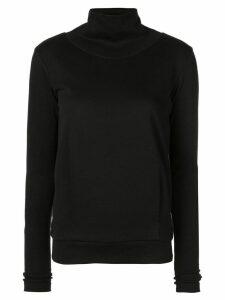 Alo Yoga funnel neck sports sweatshirt - Black