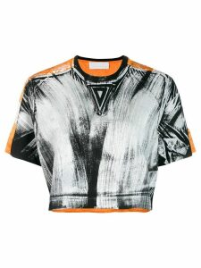 No Ka' Oi printed sports T-shirt - ORANGE