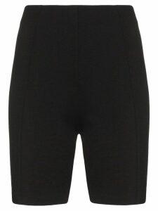 Ninety Percent zipped bicycle shorts - Black