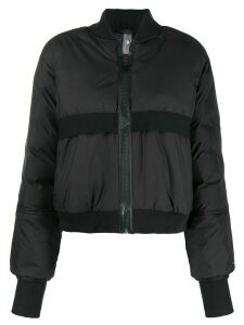adidas by Stella McCartney padded bomber jacket - Black