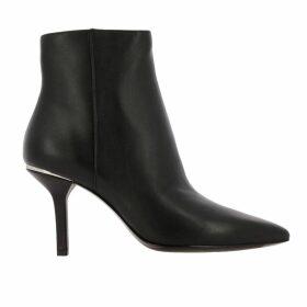 Michael Michael Kors Heeled Booties Katerina Michael Michael Kors Leather Ankle Boots