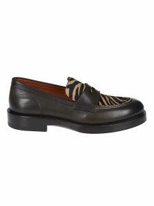 Santoni Branded Loafers