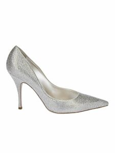 René Caovilla Strass Pumps