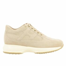 Hogan Sneakers Hogan Interactive Sneakers In Suede With Rounded H