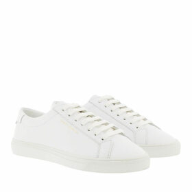 Saint Laurent Sneakers - Andy Sneaker Leather White - white - Sneakers for ladies