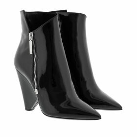 Saint Laurent Boots & Booties - Niki Heeled Ankle Boots Leather Black - black - Boots & Booties for ladies