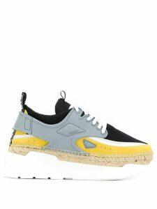 Kenzo K-lastic platform sneakers - Grey