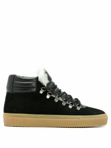 Zespa hi-top sneakers - Black