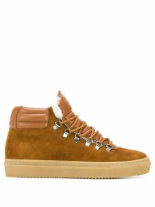 Zespa hi-top sneakers - Brown