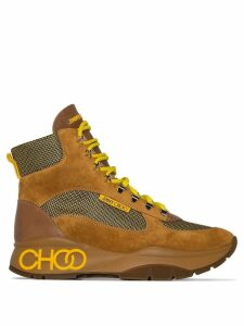 Jimmy Choo Inca hiking boots - Yellow