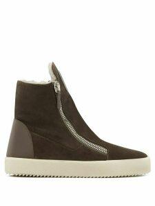 Giuseppe Zanotti high-top sneakers - Grey