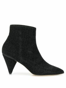 Polly Plume pointed ankle boots - Black