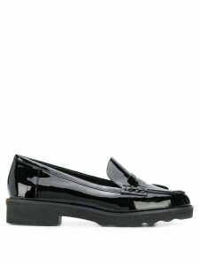 Michael Michael Kors Alberta patent leather loafer - Black