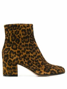 Gianvito Rossi leopard ankle boots - TXSLEO